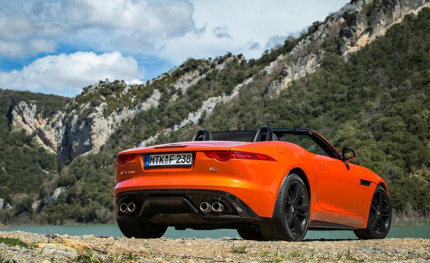 2014 Jaguar F-type V6 S roadster - Slide 108