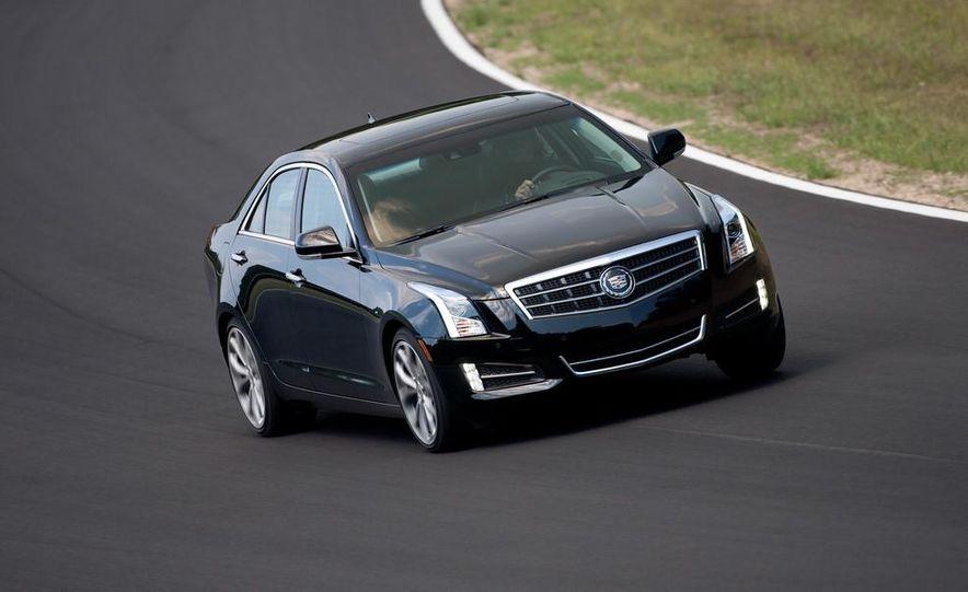 2014 Cadillac ATS coupe (spy photo) - Slide 28