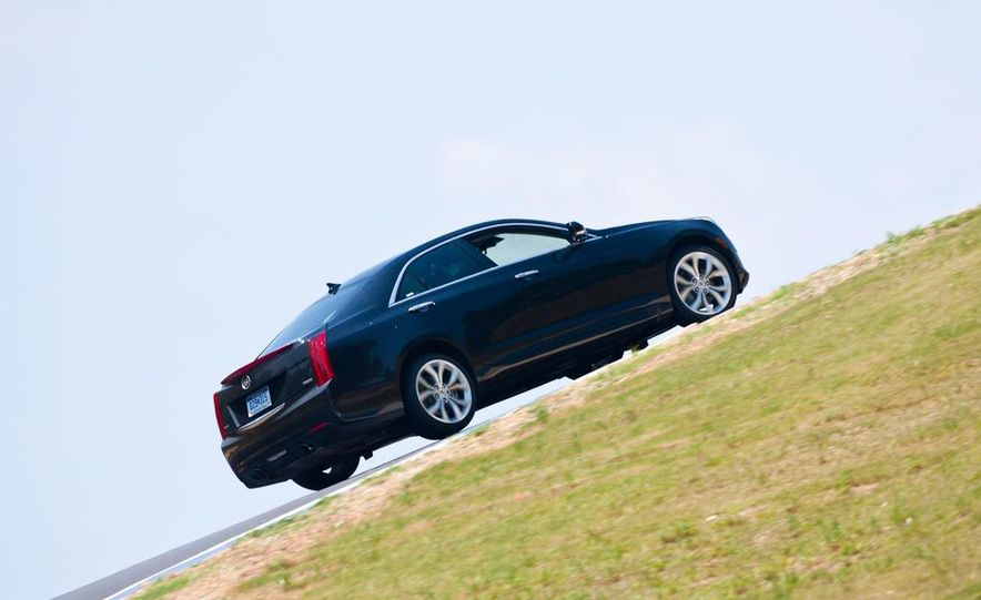 2014 Cadillac ATS coupe (spy photo) - Slide 31