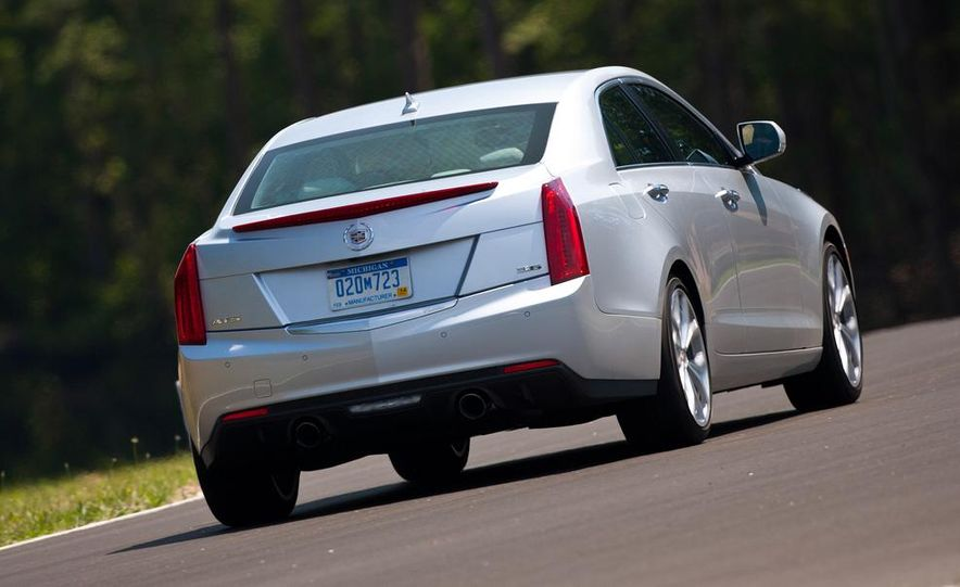 2014 Cadillac ATS coupe (spy photo) - Slide 35