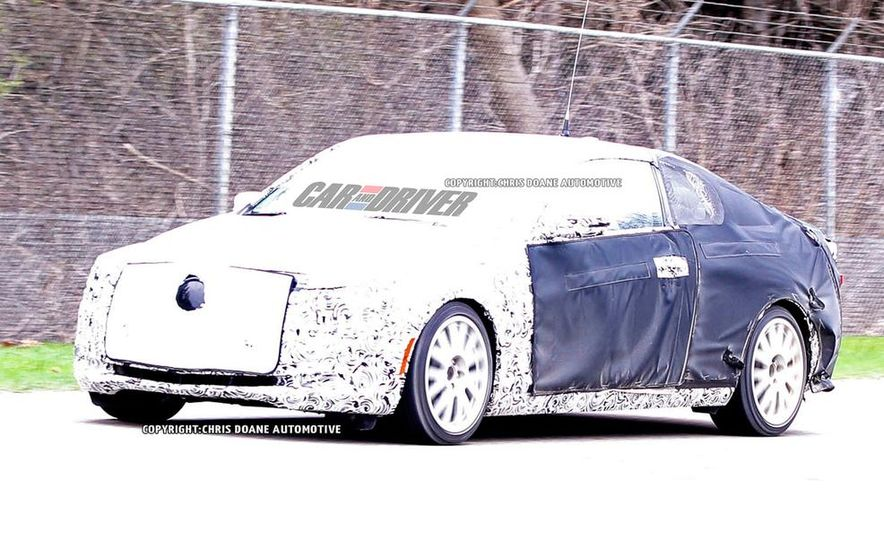 2014 Cadillac ATS coupe (spy photo) - Slide 1