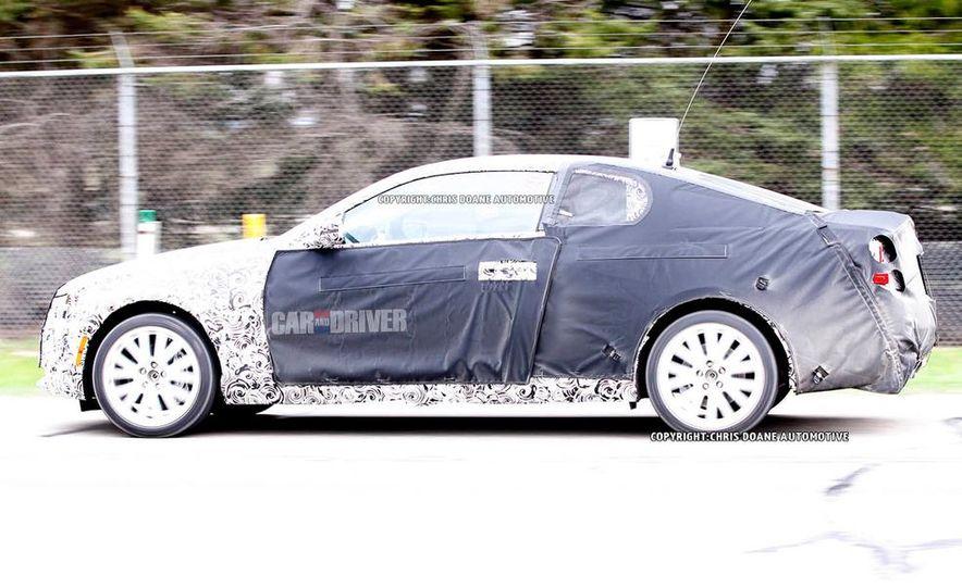 2014 Cadillac ATS coupe (spy photo) - Slide 6