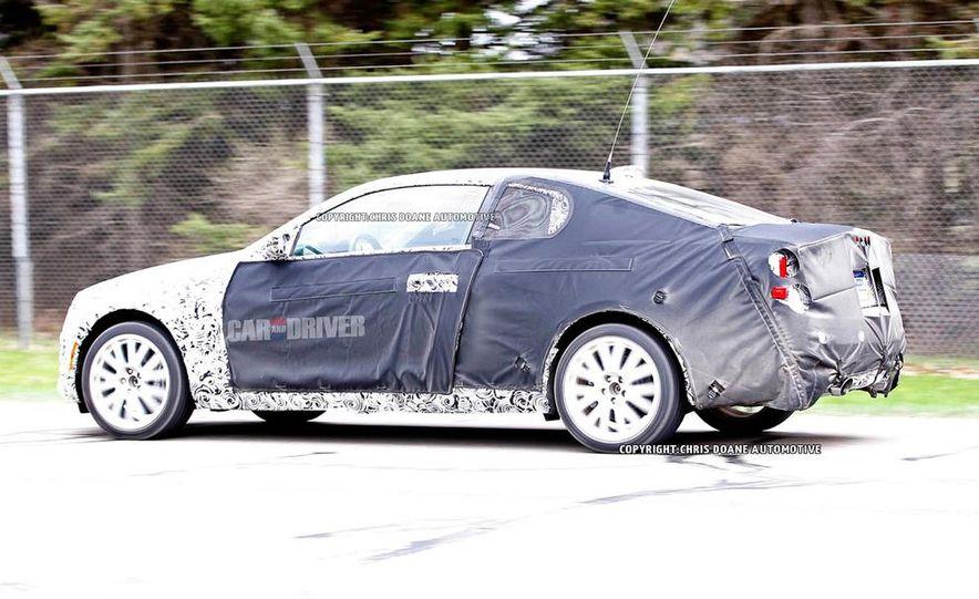 2014 Cadillac ATS coupe (spy photo) - Slide 7