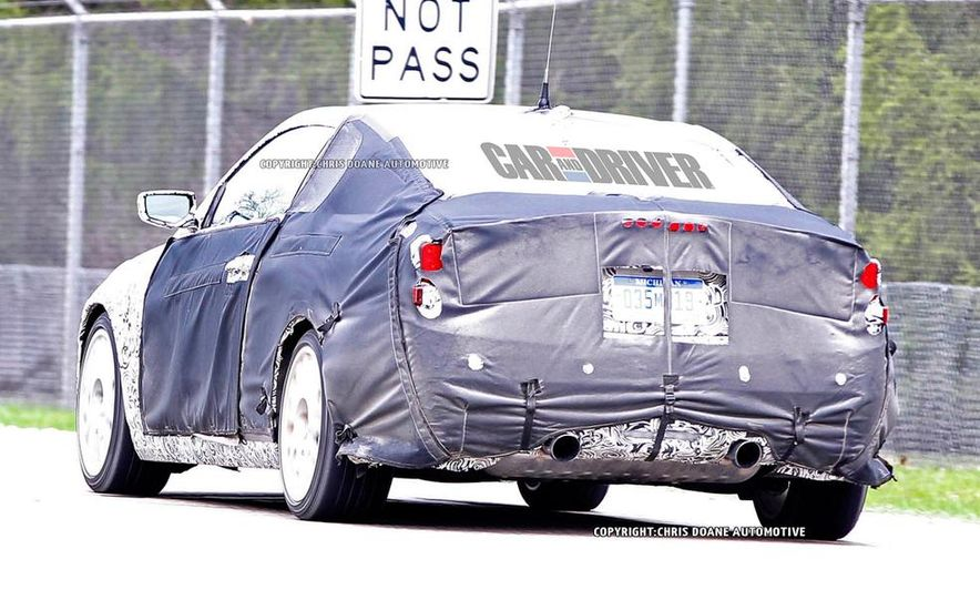 2014 Cadillac ATS coupe (spy photo) - Slide 9