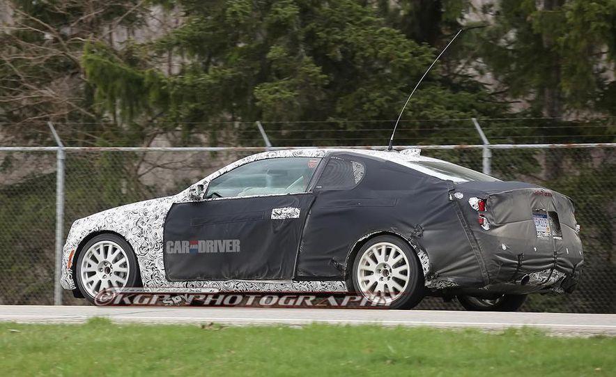 2014 Cadillac ATS coupe (spy photo) - Slide 11