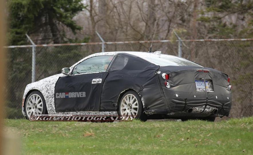 2014 Cadillac ATS coupe (spy photo) - Slide 14