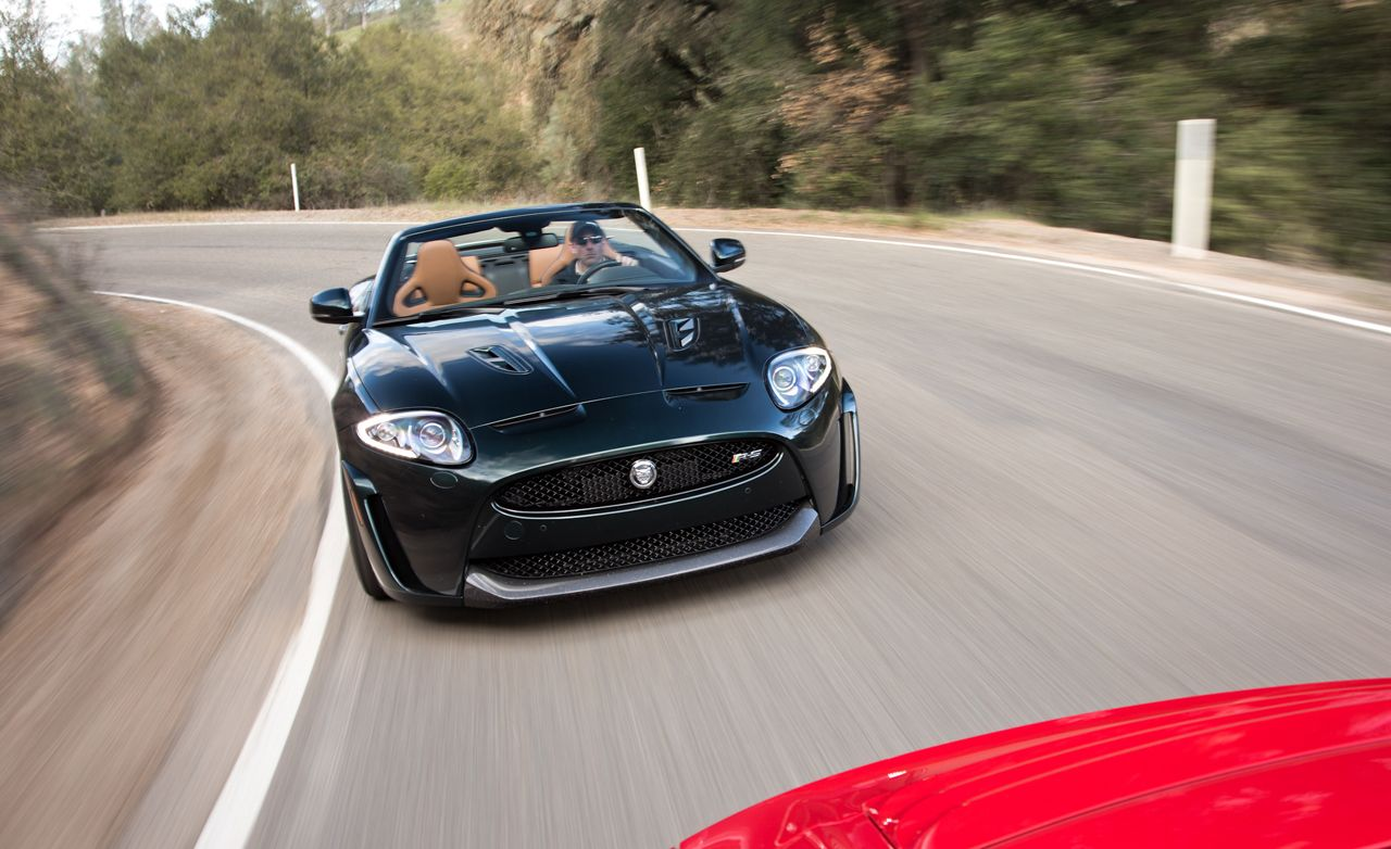 2013 Jaguar XKR-S Convertible