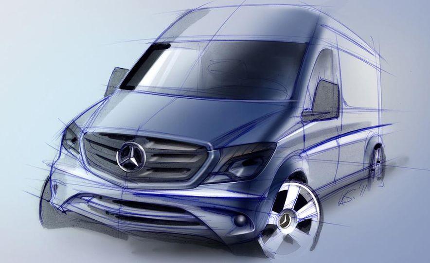 2014 Mercedes-Benz Sprinter cargo van - Slide 9