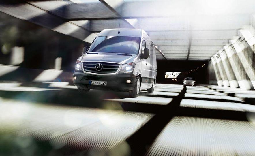 2014 Mercedes-Benz Sprinter cargo van - Slide 1