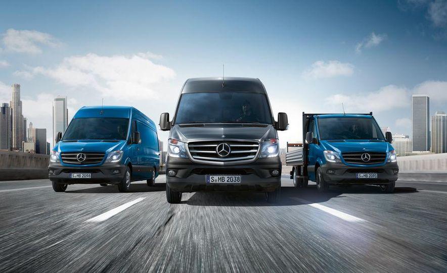 2014 Mercedes-Benz Sprinter cargo van - Slide 7