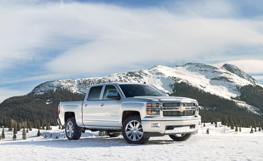2014 Chevrolet Silverado High Country - Slide 1
