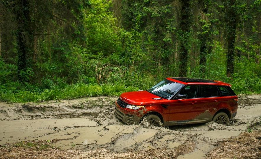 2014 Land Rover Range Rover Sport - Slide 25