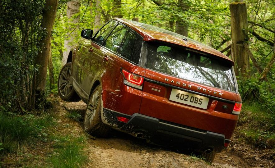 2014 Land Rover Range Rover Sport - Slide 33