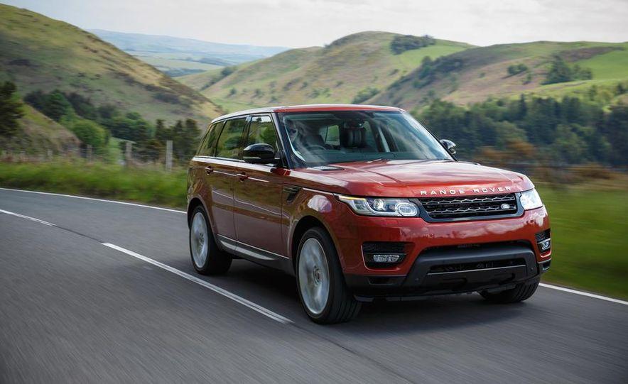 2014 Land Rover Range Rover Sport - Slide 53