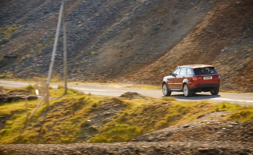 2014 Land Rover Range Rover Sport - Slide 58