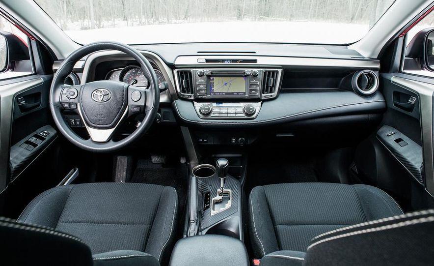 2013 Toyota RAV4 XLE AWD, 2014 Subaru Forester 2.5i Touring, and 2014 Mazda CX-5 Grand Touring AWD - Slide 49