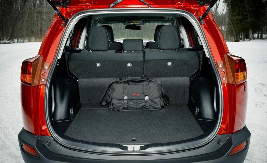 2013 Toyota RAV4 XLE AWD, 2014 Subaru Forester 2.5i Touring, and 2014 Mazda CX-5 Grand Touring AWD - Slide 51