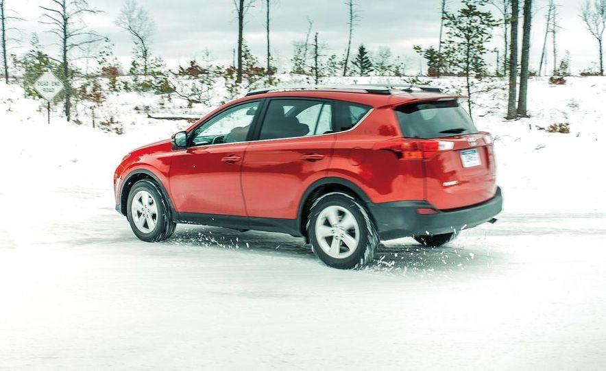 2013 Toyota RAV4 XLE AWD, 2014 Subaru Forester 2.5i Touring, and 2014 Mazda CX-5 Grand Touring AWD - Slide 43