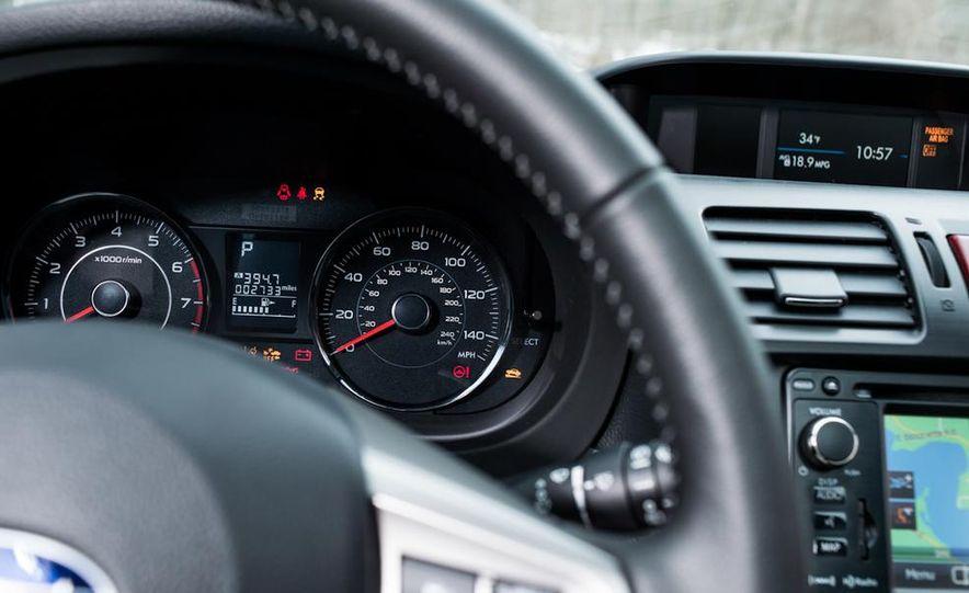 2013 Toyota RAV4 XLE AWD, 2014 Subaru Forester 2.5i Touring, and 2014 Mazda CX-5 Grand Touring AWD - Slide 33