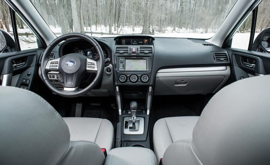 2013 Toyota RAV4 XLE AWD, 2014 Subaru Forester 2.5i Touring, and 2014 Mazda CX-5 Grand Touring AWD - Slide 30