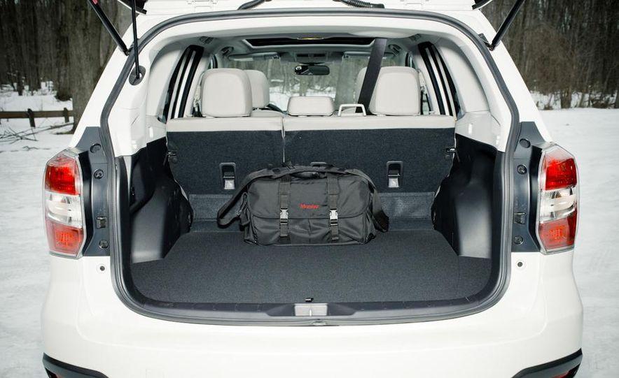 2013 Toyota RAV4 XLE AWD, 2014 Subaru Forester 2.5i Touring, and 2014 Mazda CX-5 Grand Touring AWD - Slide 32