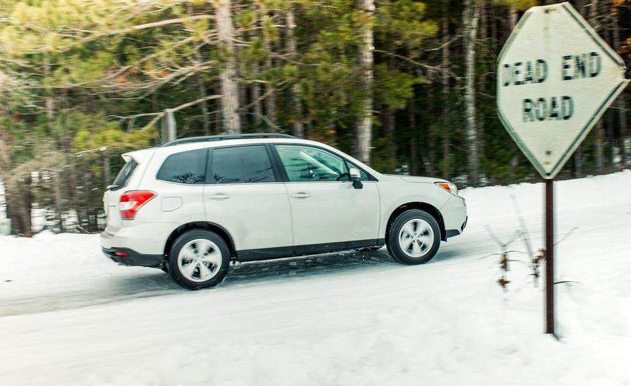 2013 Toyota RAV4 XLE AWD, 2014 Subaru Forester 2.5i Touring, and 2014 Mazda CX-5 Grand Touring AWD - Slide 25