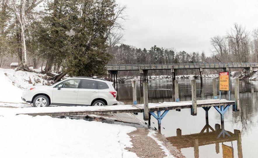 2013 Toyota RAV4 XLE AWD, 2014 Subaru Forester 2.5i Touring, and 2014 Mazda CX-5 Grand Touring AWD - Slide 18