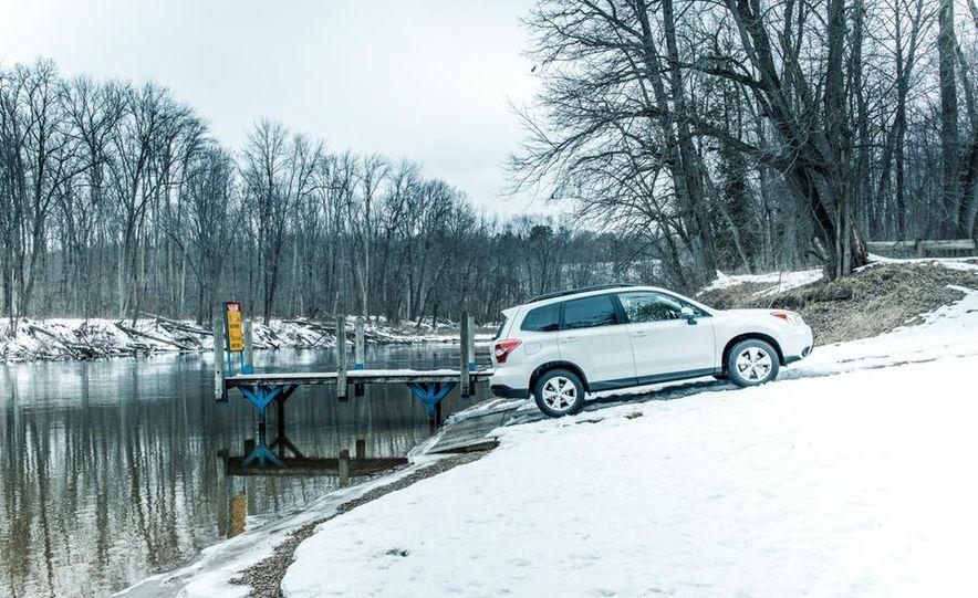 2013 Toyota RAV4 XLE AWD, 2014 Subaru Forester 2.5i Touring, and 2014 Mazda CX-5 Grand Touring AWD - Slide 20