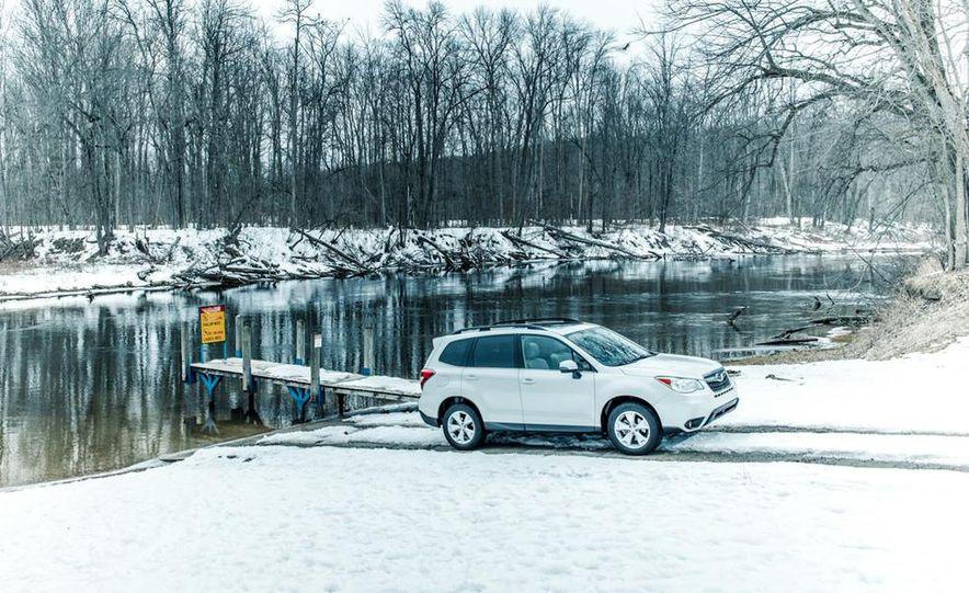 2013 Toyota RAV4 XLE AWD, 2014 Subaru Forester 2.5i Touring, and 2014 Mazda CX-5 Grand Touring AWD - Slide 21