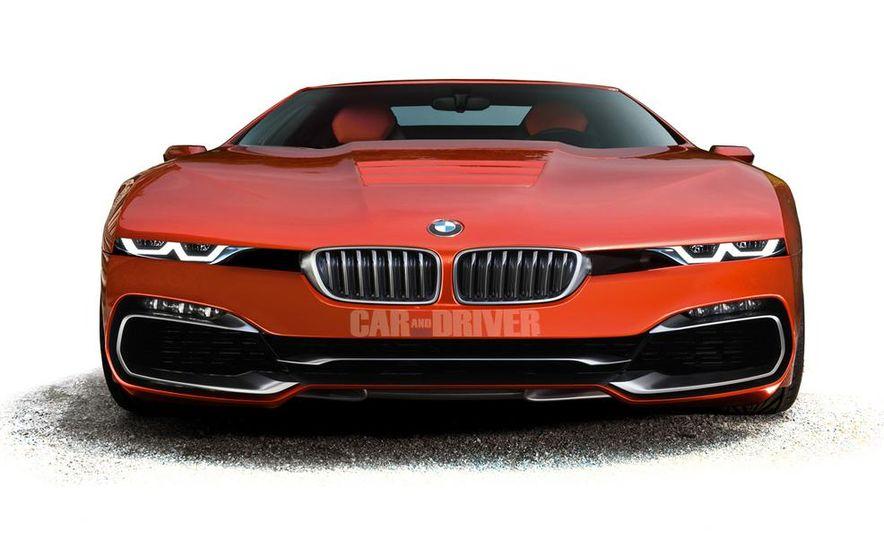 2016 BMW M8 (artist's rendering) - Slide 1