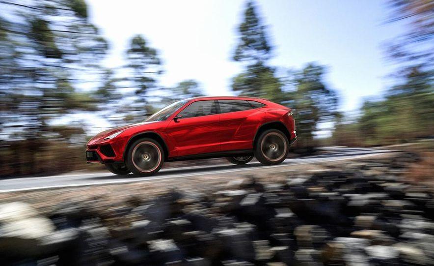 Lamborghini Urus concept - Slide 1