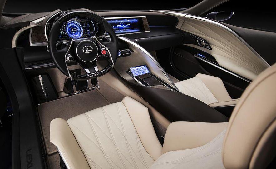 Lexus LF-LC Blue concept - Slide 21