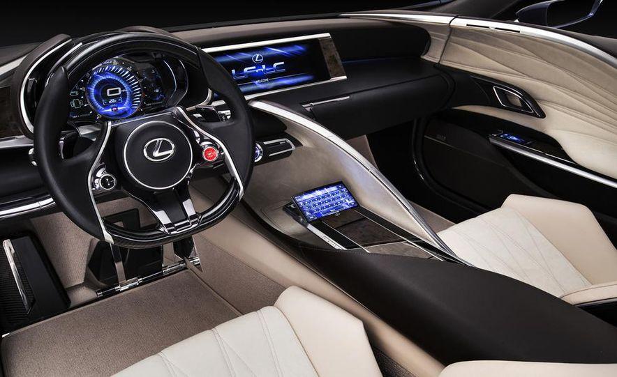 Lexus LF-LC Blue concept - Slide 22