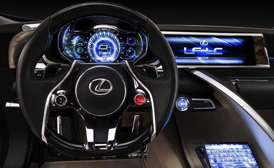 Lexus LF-LC Blue concept - Slide 23