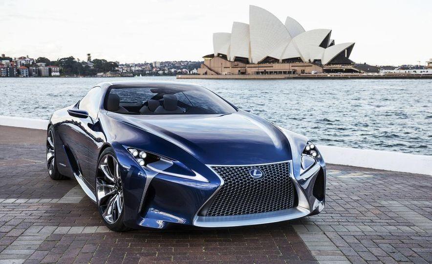 Lexus LF-LC Blue concept - Slide 1