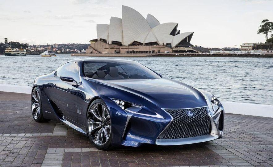 Lexus LF-LC Blue concept - Slide 2