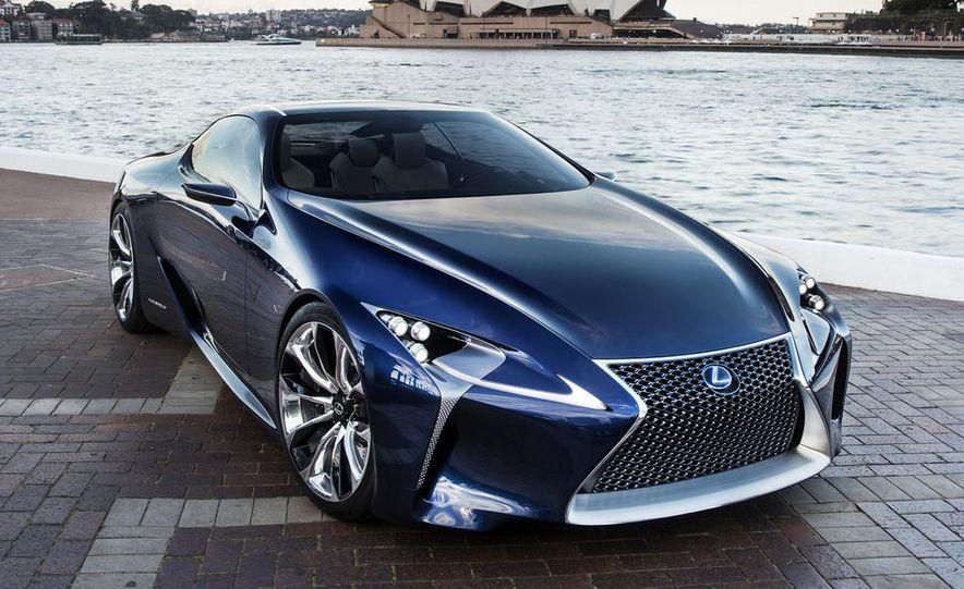 Lexus LF-LC Blue concept - Slide 4