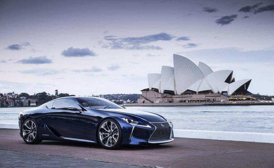 Lexus LF-LC Blue concept - Slide 6