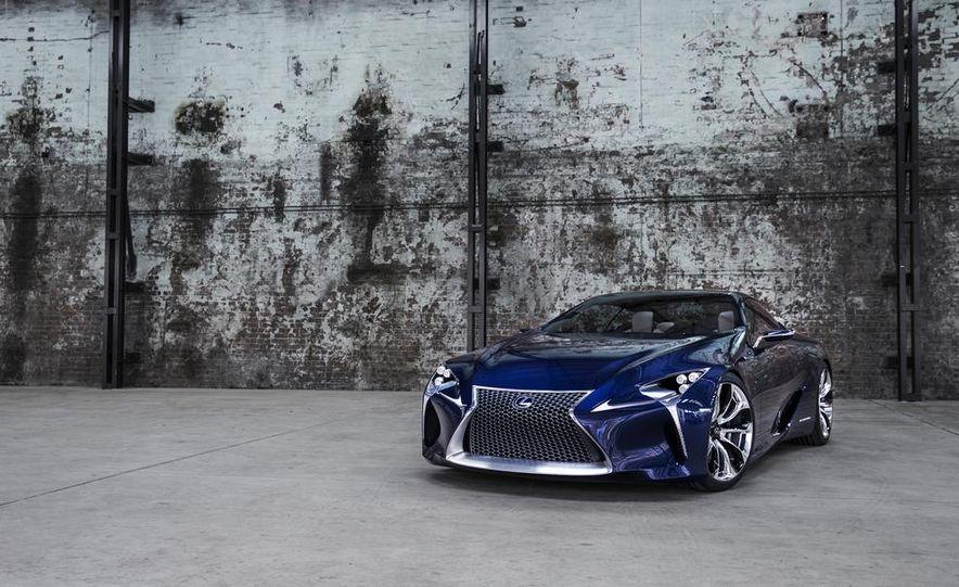 Lexus LF-LC Blue concept - Slide 7