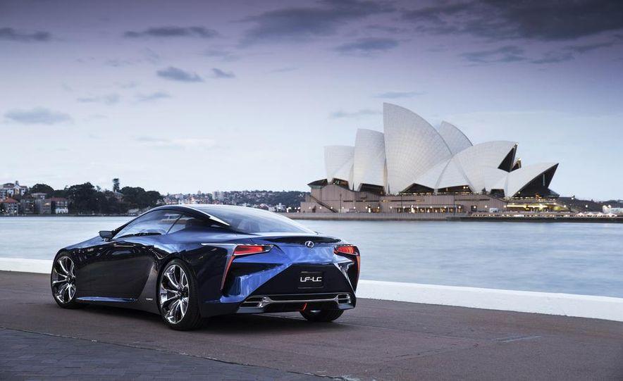 Lexus LF-LC Blue concept - Slide 9