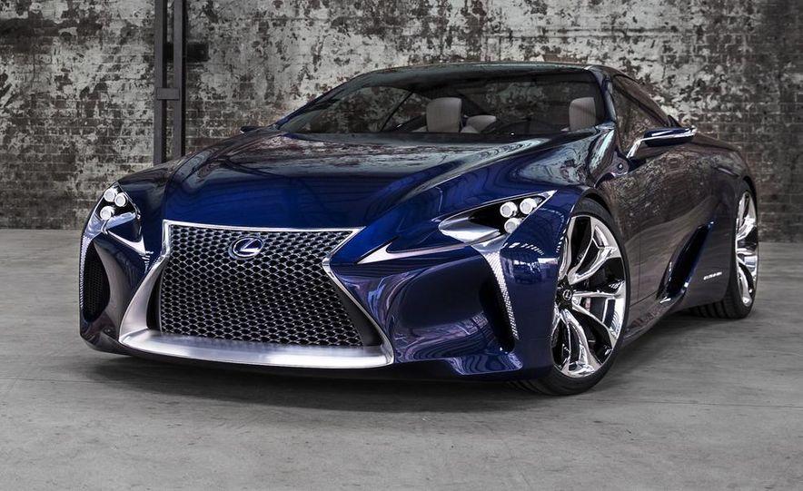 Lexus LF-LC Blue concept - Slide 10