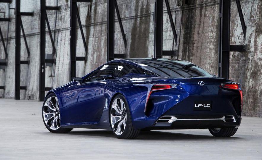 Lexus LF-LC Blue concept - Slide 11