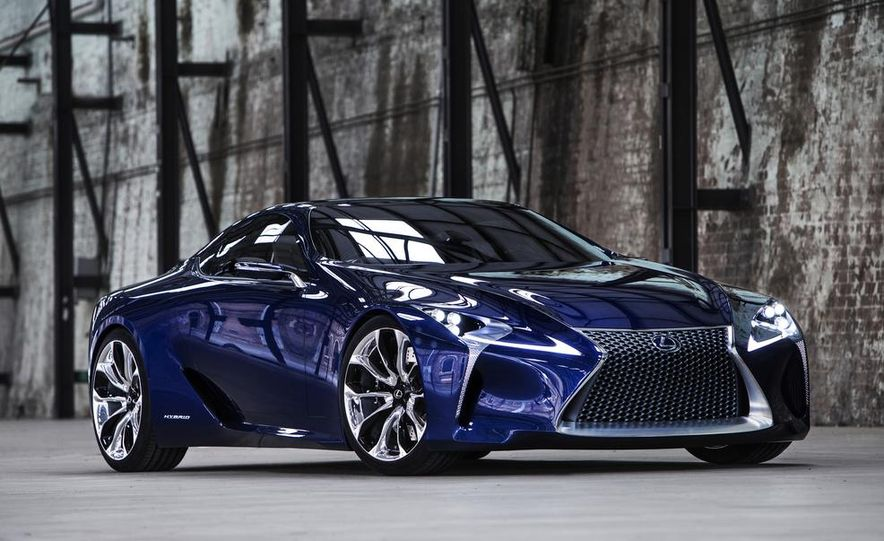 Lexus LF-LC Blue concept - Slide 12
