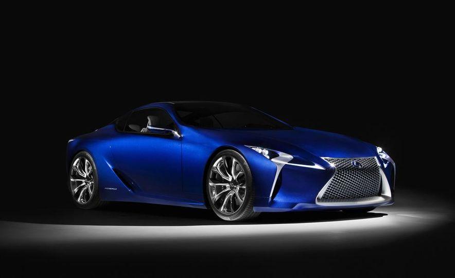 Lexus LF-LC Blue concept - Slide 14