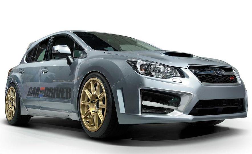 2015 Subaru WRX (artist's rendering) - Slide 1