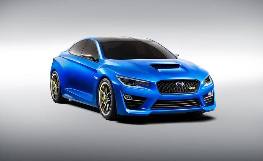 2015 Subaru WRX (artist's rendering) - Slide 18