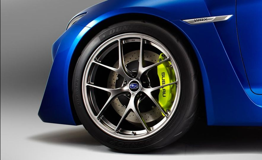 2015 Subaru WRX (artist's rendering) - Slide 27