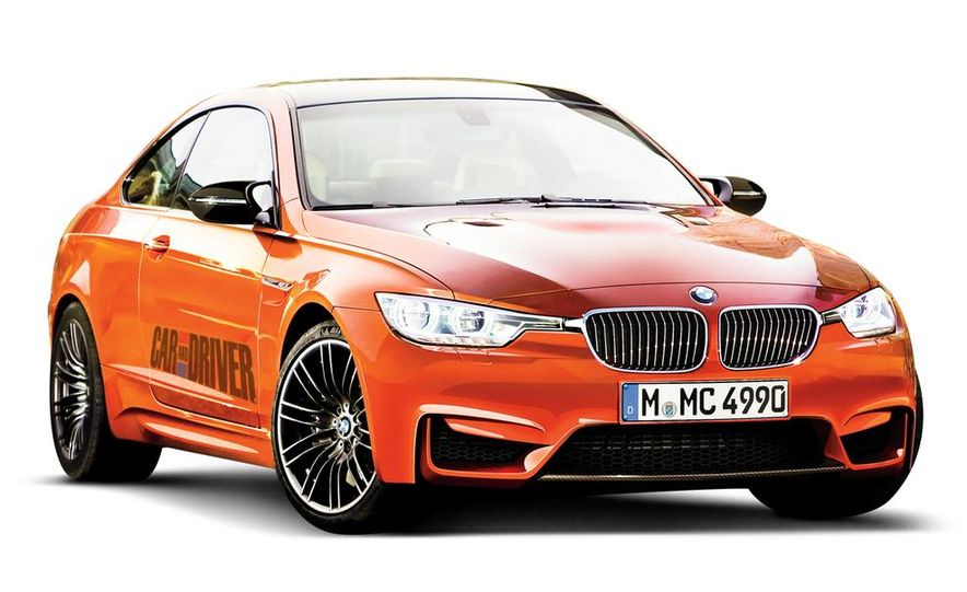 2014 BMW M4 (artist's rendering) - Slide 1