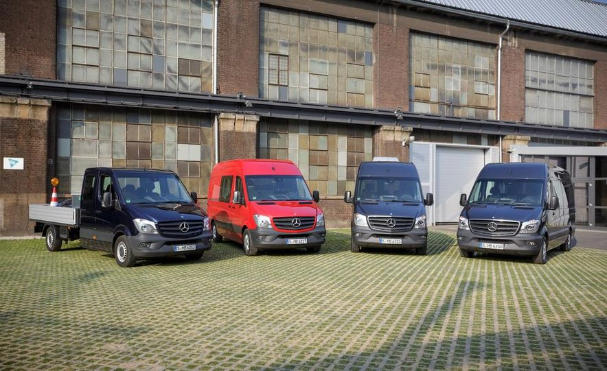 2014 Mercedes-Benz Sprinter cab chassis and cargo vans - Slide 1