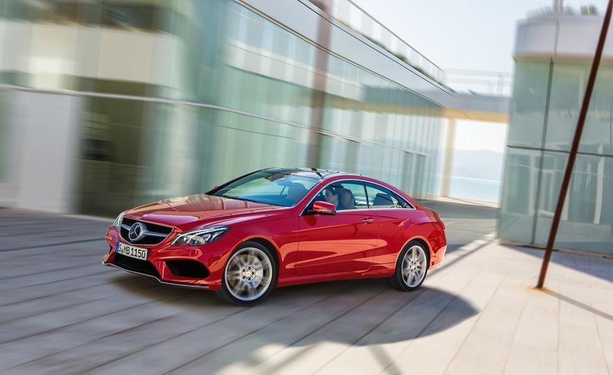 2014 Mercedes-Benz E500 coupe - Slide 1